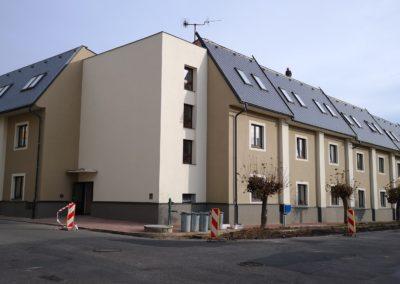 Zateplení domu s pečovatelskou službou v ul. Sokolská, město Jičín