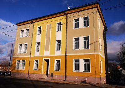 Kompletní rekonstrukce sociální bydlení F, Liberec