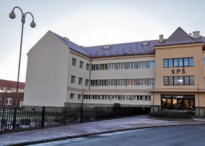Zateplení školy Pod Koželuhy, Jičín