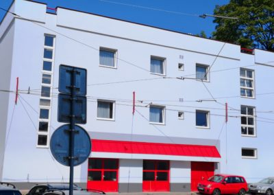 Zateplení budovy měnírny Liberec, Dopravní podniky