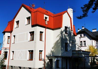 Zateplení objeku APOSS, Liberec