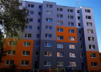 Zateplení bytového domu v ulici  U Kostela, Jablonec Nad Nisou, Společenství vlastníků domu