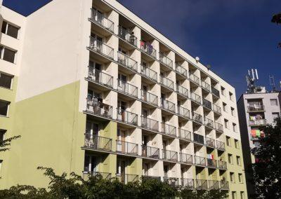 Zateplení bytového domu Granátová, město Turnov